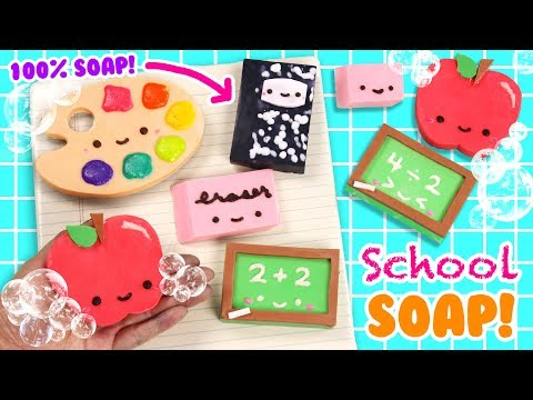 DIY School Supply Soap! ✏️📚📝