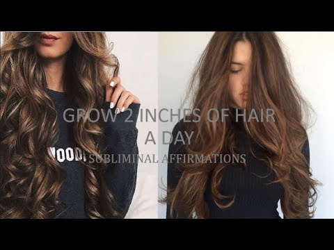 Grow 2 Inches Of Hair Every Day - Subliminal affirmations
