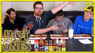 Download The Hot Ones Challenge! | Ft. YourPalRoss, Castr & Oogapooki! Video