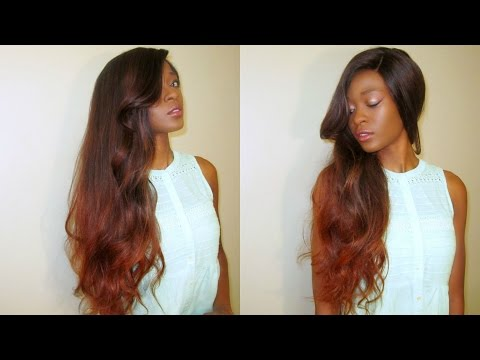 DIY: Copper Fall Ombre/ Balayge Irresitible Me Full Lace Wig