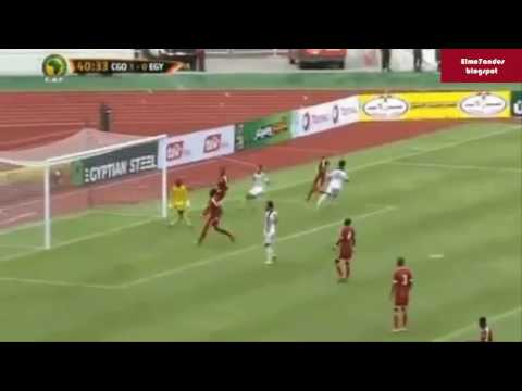 اهداف مباراة مصر والكونغو 2-1 [09-10-2016]