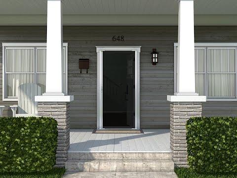 ODL - Brisa Double Door Installation