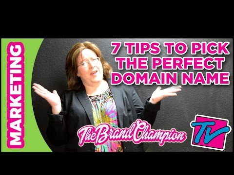 Business Website - 7 Tips How To Pick Your Domain Name