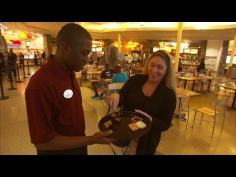 Exclusive: Target Tie Kid Got His First Job!