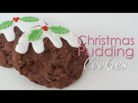 Christmas Chocolate Chip Cookies - Christmas Pudding Cookie Recipe