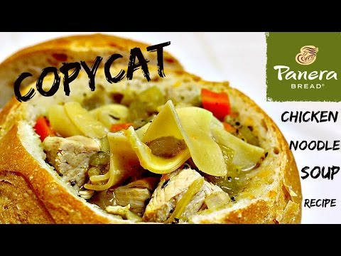 Copypat Panera Chicken Noodle Soup