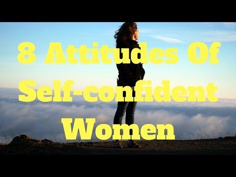 8 Attitudes Of Self-confident Women