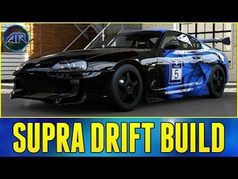 Forza 5 Drift Build : Toyota Supra Drift Build