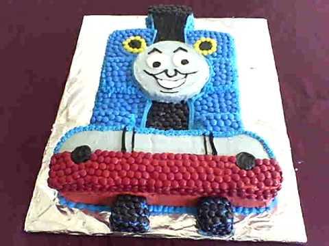 my 1st thomas the train cake