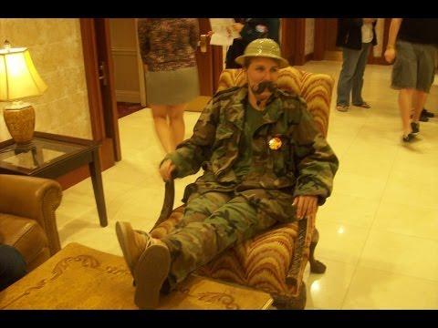 Meet Colonel Mustard | CNU CAB LIFE-SIZE CLUE 2011