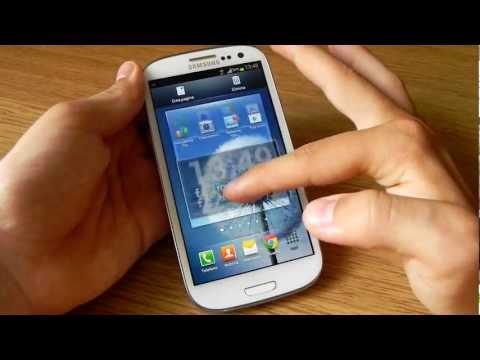 Samsung Galaxy S III con Android 4.1.1 Jelly Bean XXDLH6