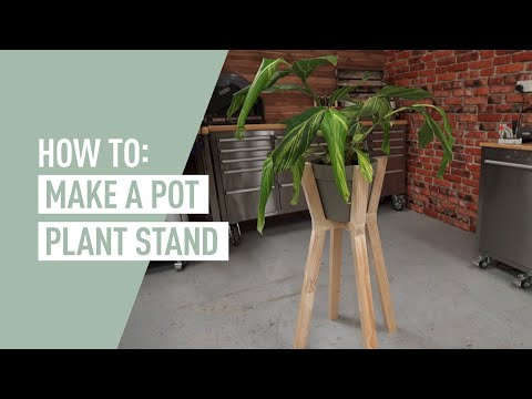 DIY Pot Plant Stand - EASY TO MAKE! (2017)