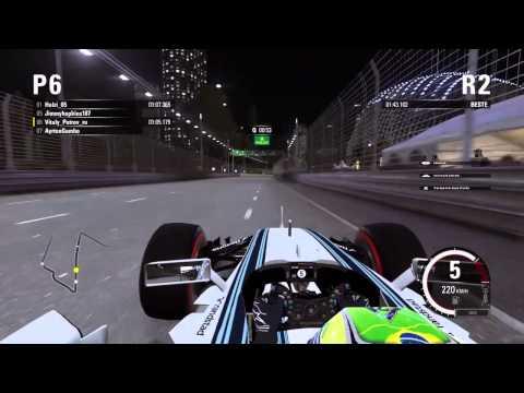F1 2015 - NGF1-Unity: 2.Saisonrennen - Singapur (Qualifikation)