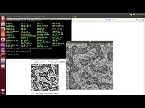 OpenCV Programming with Python on Linux Ubuntu 14.04 Tutorial-1 OpenCV Installation