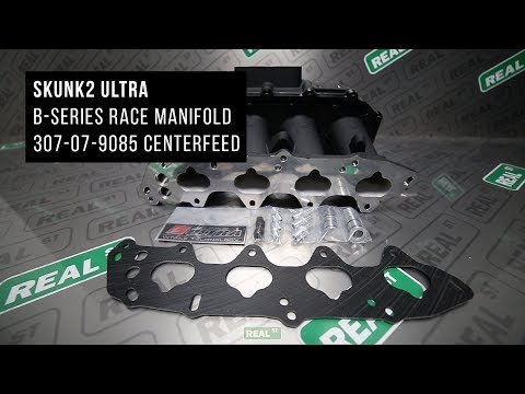 Unboxing Skunk2 Ultra Race Centerfeed Mainfold 307-07-9085 - Real Street Performance