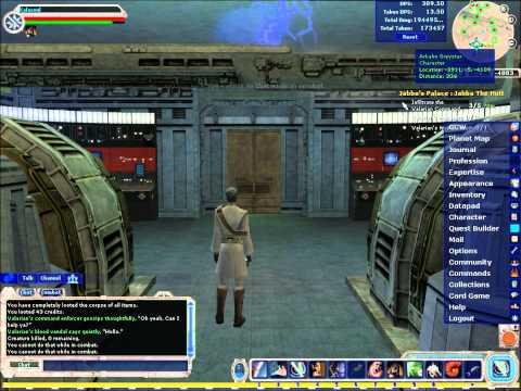 Star Wars Galaxies Jedi Gameplay