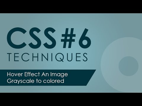 Hover effect an image Grayscale to colored