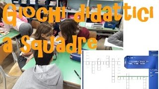 giochi didattici a squadre in classe quinta primaria