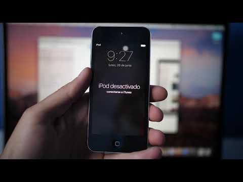 📱 Solución 2018: iPhone o iPod esta desactivado conectarse a iTunes