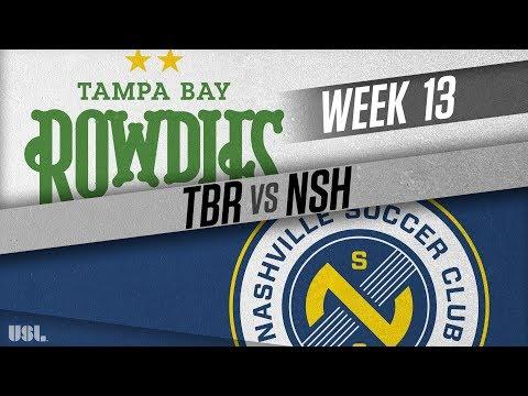 Tampa Bay Rowdies vs Nashville SC: June 9, 2018
