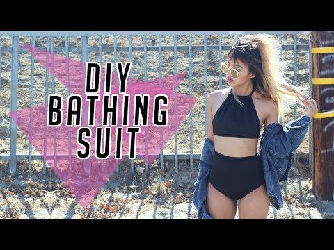 DIY Simple Bathing Suit | Half Baked