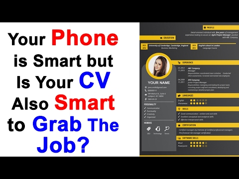 Smart Resume Examples - How To Make A Resume Smart Enough To Win a Job - Latest Resume Format