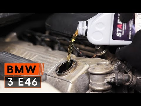 How to replace Engine Oil and Oil filter on BMW 3 E46 TUTORIAL | AUTODOC
