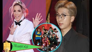 Download Halsey Reveals She Has A Secret Dating With BTS' RM & Fans Are Freaking Out Over It Video