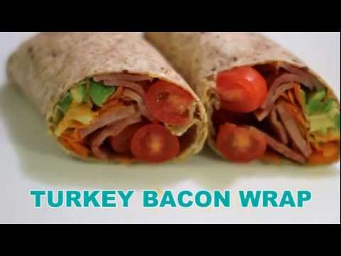 350in60 Meal - Turkey Bacon Wrap