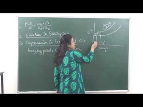 CHEM-XII-2-5 Elevation in boiling point (2017) Pradeep Kshetrapal Physics channel