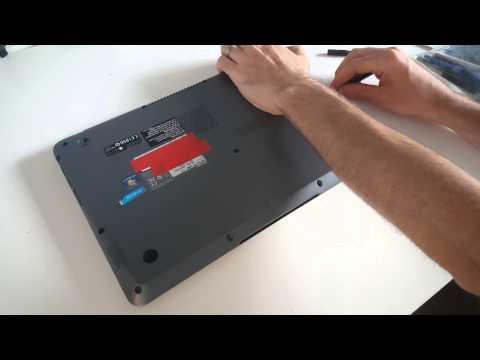 Toshiba Satellite U840 SSD and Memory Upgrade Guide