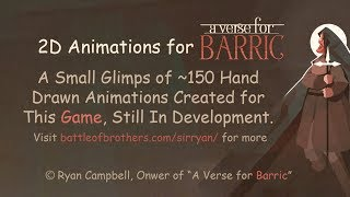 A Verse For Barric - 2d Frame By Frame Animations For An Upcoming Game