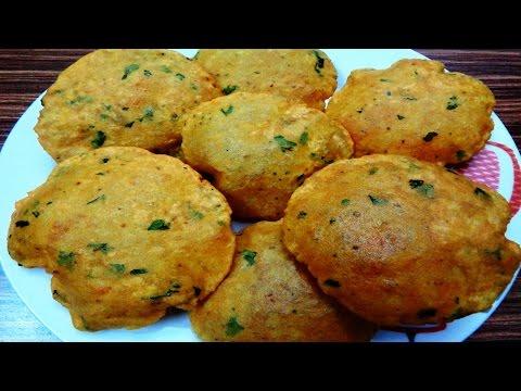 आलू पूरी बनाने की विधि - Aloo Puri Recipe|Potato Masala Poori- Aloo Puri- Easy Breakfast