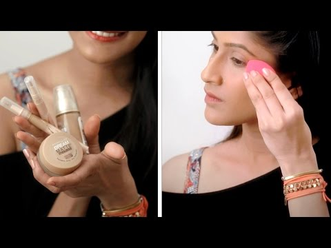 How To Apply Foundation For Full Coverage | Foundation Routine And Makeup Tips | Glamrs