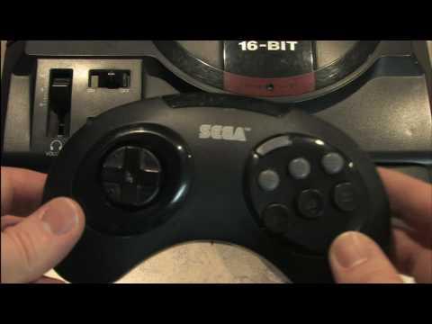 Classic Game Room HD - SEGA GENESIS WIRELESS CONTROLLER review