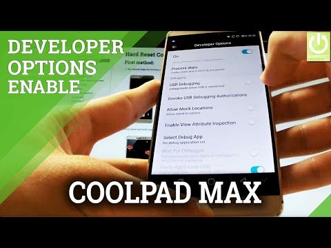 How to Enable Developer Options on CoolPAD Max - USB Debugging