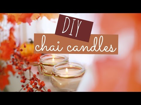 DIY Chai Candles | Always, Hunter