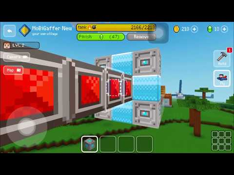 Block Craft 3D : Building Simulator Games For Free Gameplay #167 (iOS & Android) | Tank💣💥Completed