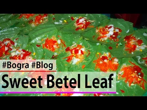 Making of Traditional Sweet Paan | Beeda