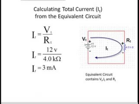 Calculating Voltage, Resistance, Current, and Power (VRIP) in Series Circuits