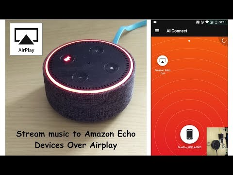 How to Stream Music over Wifi to Amazon Echo through Airplay