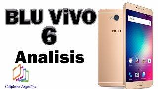 BLU VIVO 6, ANÁLISIS COMPLETO! (review español)