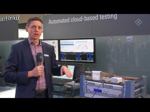 Automated cloud-based RF testing presented at GSMA MWC 2018