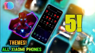 Top 5 Best Themes For Xiaomi Phones Videos - 9tube tv