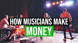 Touring Musician | How I Make Money