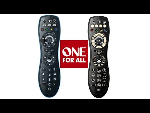 Universal Remote Control [part 1] - One For All OARUSB04G / 6540 Review and Standard Configuration