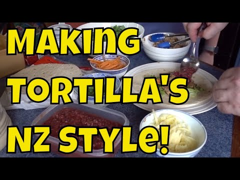 Making Tortilla's New Zealand Style