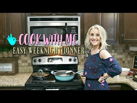 COOK WITH ME || EASY WEEKNIGHT DINNER IDEA ||