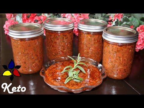 Keto Italian Marinara Sauce