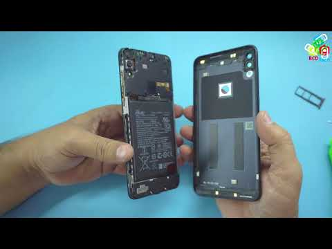 ASUS Zenfone Max Pro M1 Backcover removal & Battery Disconnection...